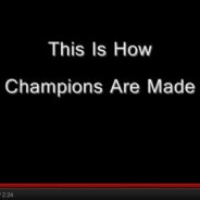 This is what Champion are made!